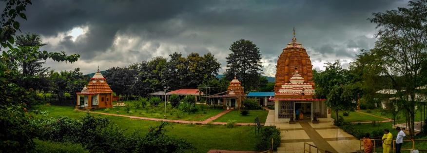 Jagannath temple at Joda, Odisha, 2017